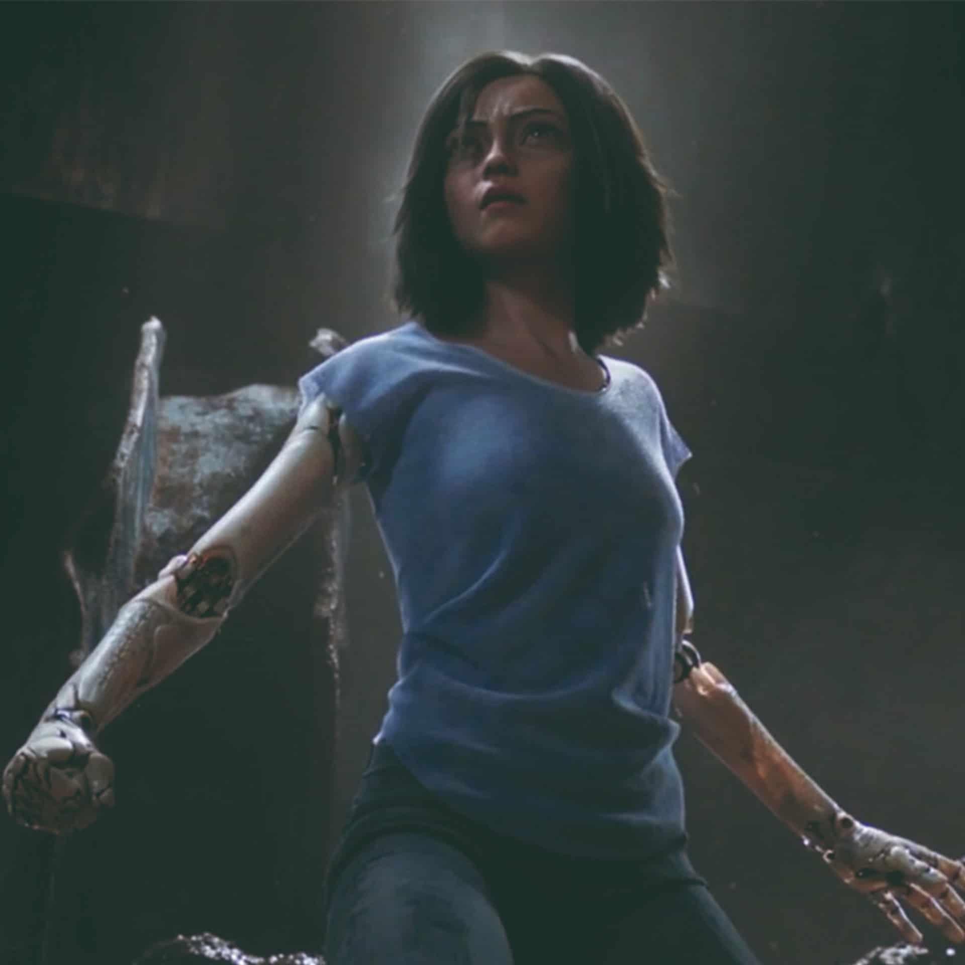 Bilde av en cyborg-jente fra filmen Altia Battle Angle