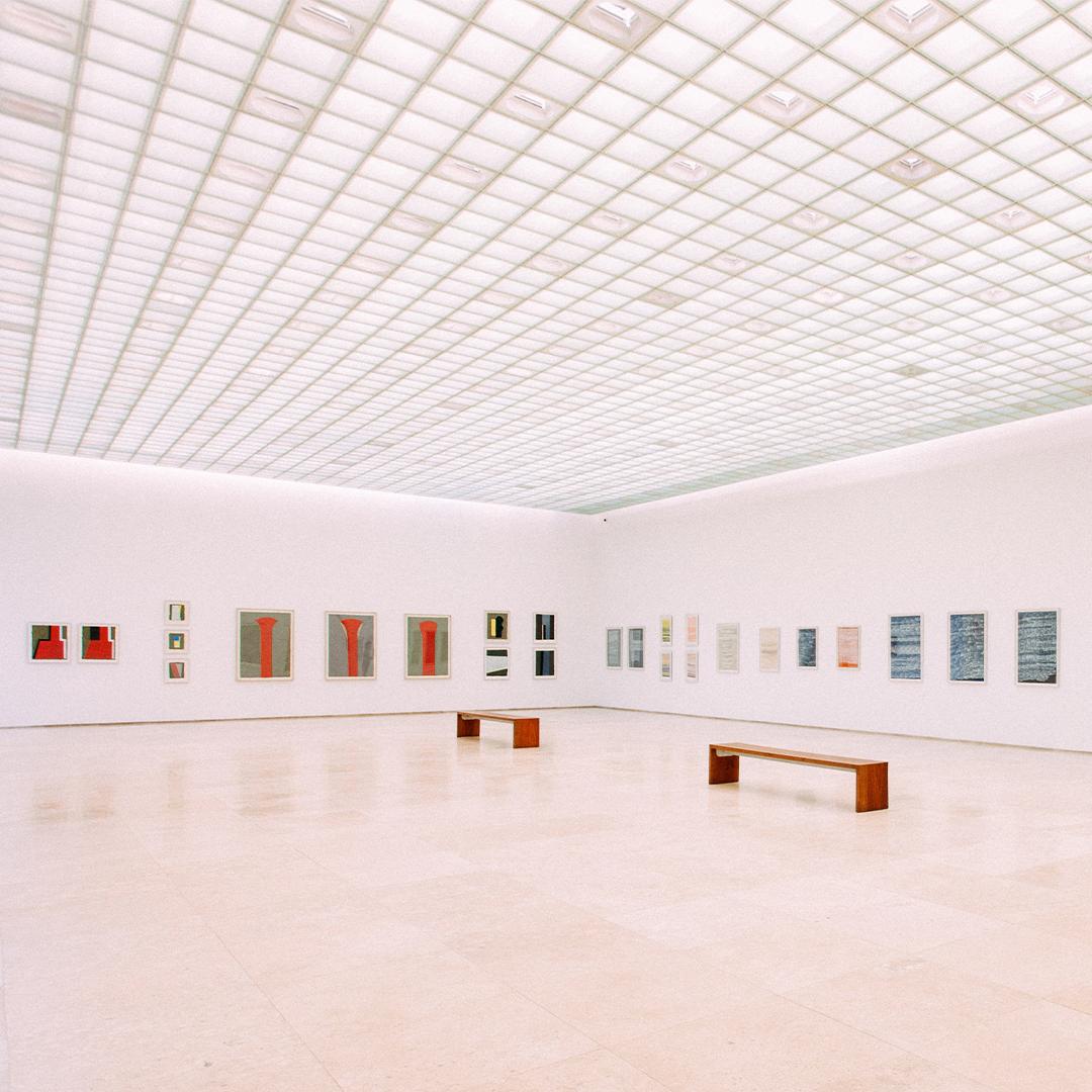 Bilde av et tomt museum