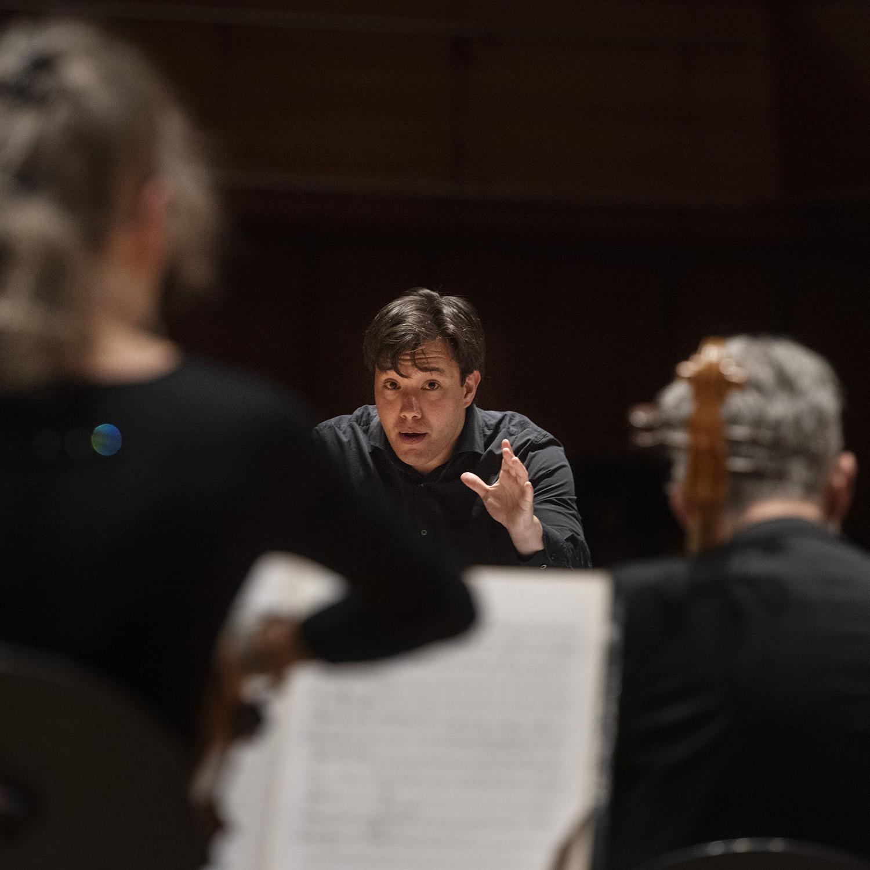 Neste toppdirigent: Aage Richard Meyer vant eliteprogrammet Opptakt